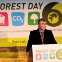 CIFOR Director General Peter Holmgren  at Forest Day 6, Doha, Qatar  (Photo by Neil Palmer/CIAT)
